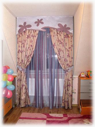 купить шторы для детской комнаты