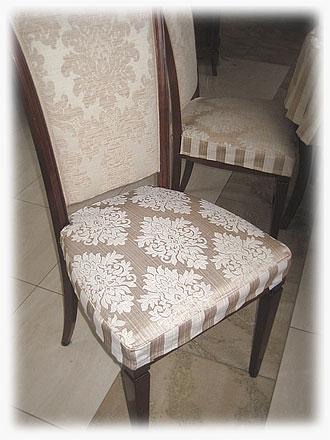 Чехол для стула с тканей компаньенов