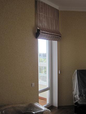 Римские шторы, плоские шторы, складывающиеся шторы, использо.