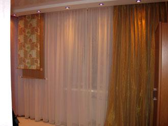 шторы с подхватами