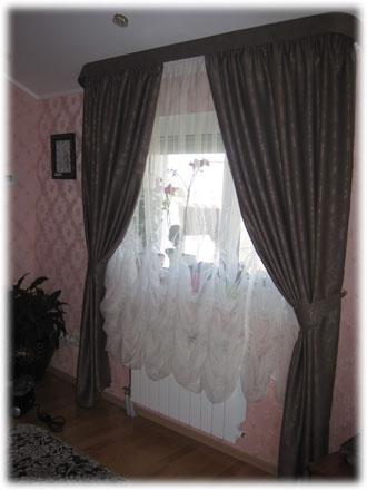 шторы из ткани «Black Out»